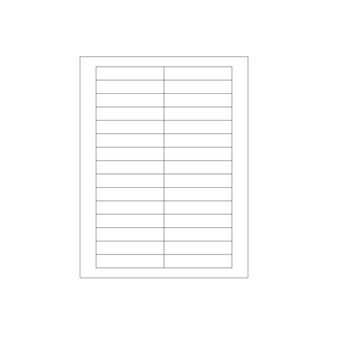 Laser Printer Labels - Size: 3 1/2 x 2