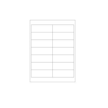 Laser Printer Labels - Size: 4 1/4 x 2