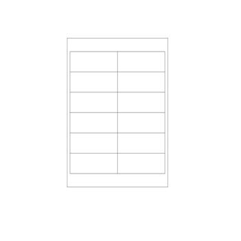 Laser Printer Labels - Size: 4 x 1 1/2