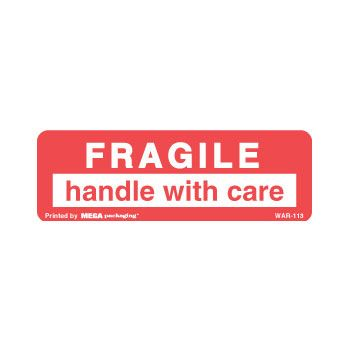 Fragile Labels - 3 x 5