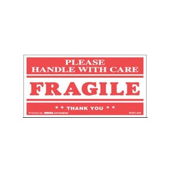 Fragile Labels - 2 x 3