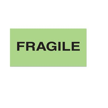 Fluorecent Fragile Labels - thumbnail view 3