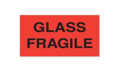 Fluorecent Fragile Labels - thumbnail view 5