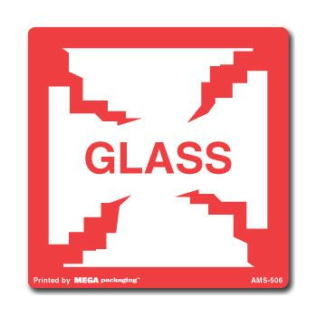 Glass Labels - 1 x 3