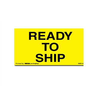 Fluorecent Shipping Labels - 3 x 5