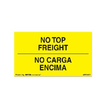 English/Spanish  Shipping Labels - 3 x 5