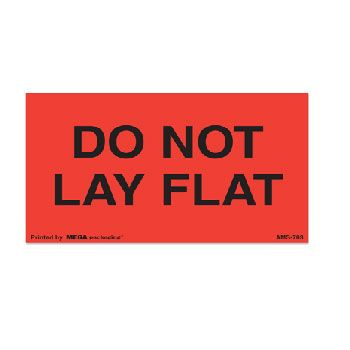 Fluorescent Do Not Labels - 2 x 3