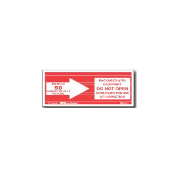 Pressure Sensitive Do Not.. Labels - 2 x 3
