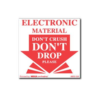 Pressure Sensitive Do Not.. Labels - 4 x 4