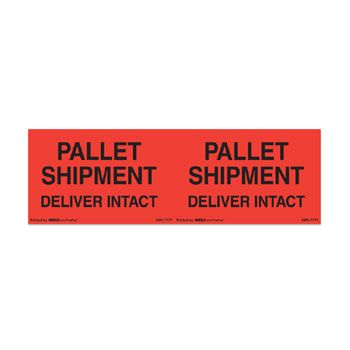Pallet Protection Labels - 4 x 6