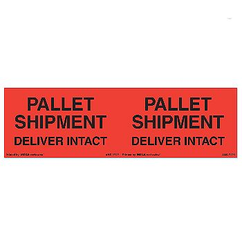Pallet Protection Labels - 3 x 10
