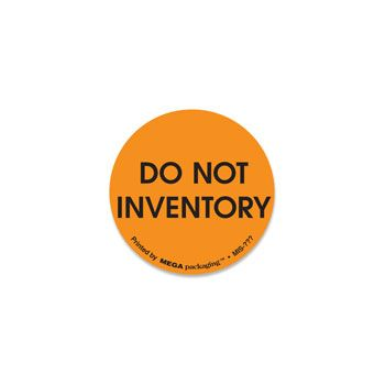Circle Inventory Labels - 1