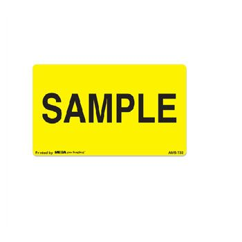 Fluorescent Production Labels - 1 1/4 x 2