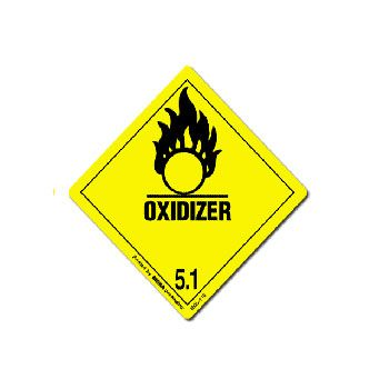 D.O.T. Hazard Labels - 4 x 4