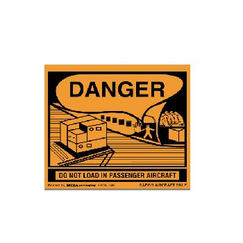 Air Specialty D.O.T. Labels - 4 x 5