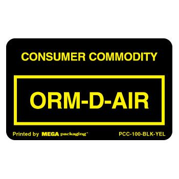 Standard ORM D.O.T. Labels - thumbnail view 2