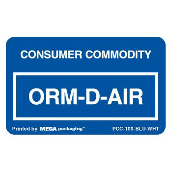 Standard ORM D.O.T. Labels - thumbnail view 3