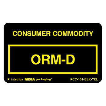 Standard ORM D.O.T. Labels - thumbnail view 4
