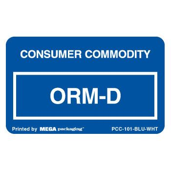 Standard ORM D.O.T. Labels - thumbnail view 5