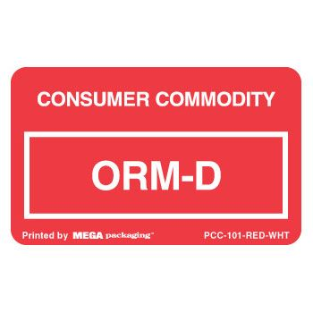 Standard ORM D.O.T. Labels - thumbnail view 6