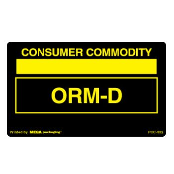 Standard ORM D.O.T. Labels - thumbnail view 10