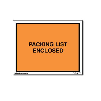 Packing List Envelopes - 4.5 x 6