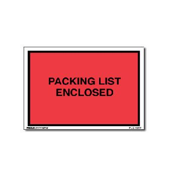 Packing List Envelopes - 5.5 x 10