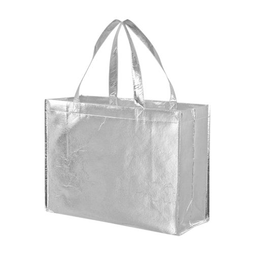 Metallic Gloss Tote - detailed view 4