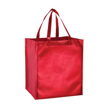 Metallic Gloss Tote - thumbnail view 3