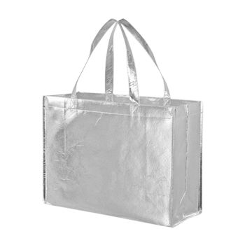 Metallic Gloss Tote - thumbnail view 4
