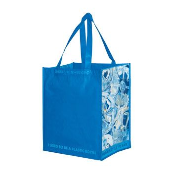 100% Recycled Grocery Bag - 12 X 8 X 13