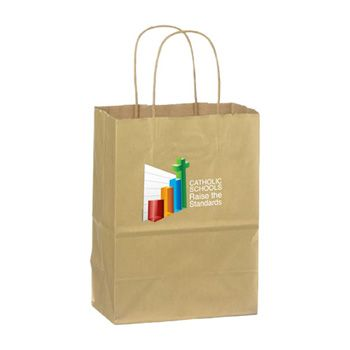 Imprinted Matte Shadow Shopping Bags - thumbnail view 2