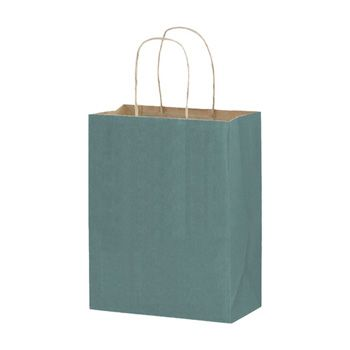 Imprinted Matte Paper Shopping Bags - thumbnail view 2