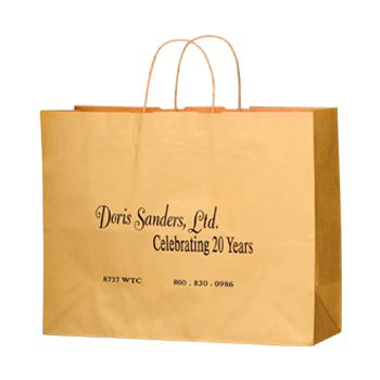 Imprinted Matte Paper Shopping Bags - thumbnail view 9