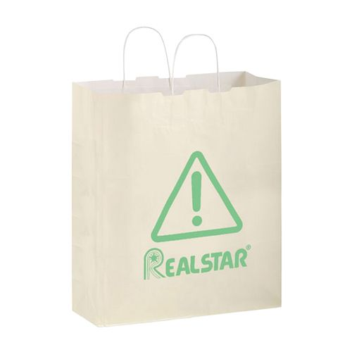 Imprinted Gloss Paper Shopping Bags - detailed view 3