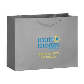 Imprinted Gloss Laminated Eurotote - 16 X 6 X 12