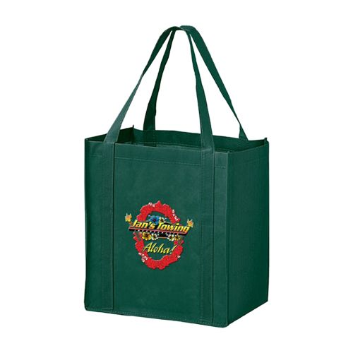 Imprinted Economy Totes With Insert - detailed view 1