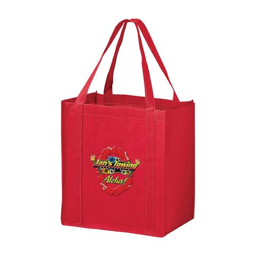 Imprinted Economy Totes With Insert - detailed view 2
