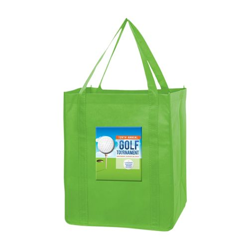 Imprinted Economy Totes With Insert - detailed view 3