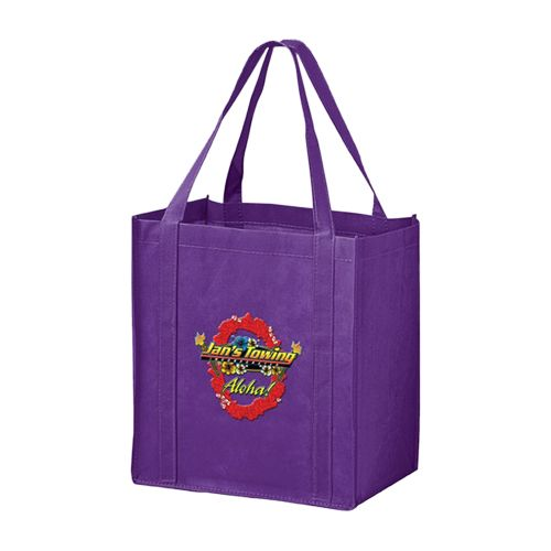 Imprinted Economy Totes With Insert - detailed view 4