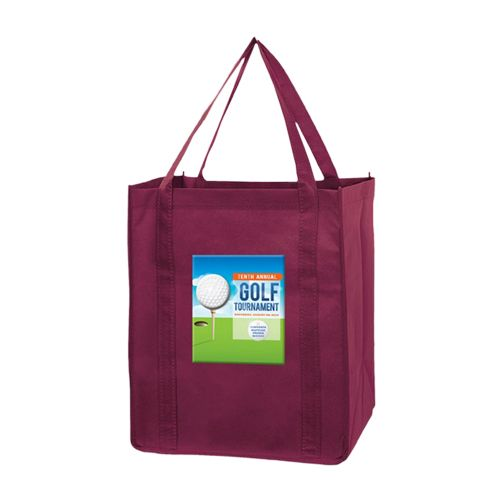 Imprinted Economy Totes With Insert - detailed view 7