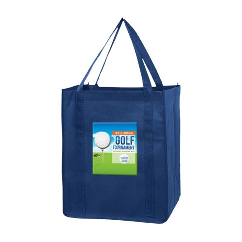 Imprinted Economy Totes With Insert - detailed view 8
