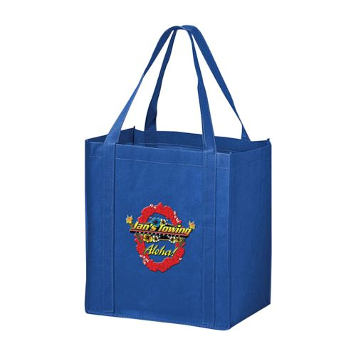Imprinted Economy Totes With Insert - detailed view 9