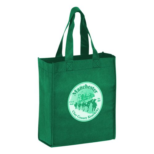 Imprinted Economy Totes With Insert - detailed view 10