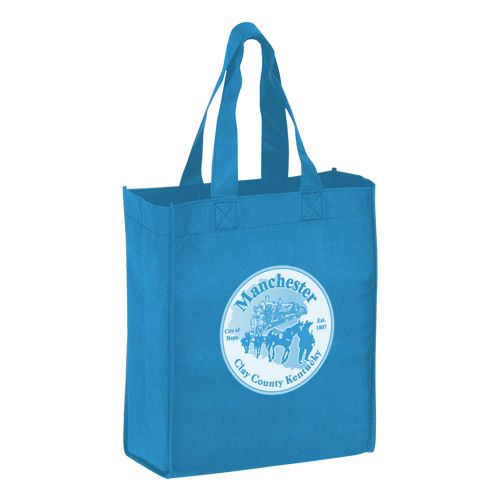 Imprinted Economy Totes With Insert - detailed view 11
