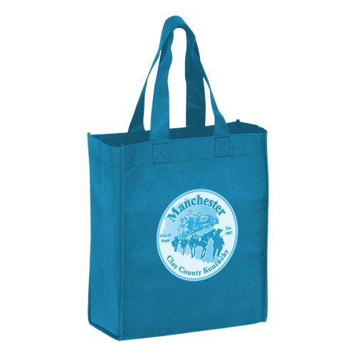 Imprinted Economy Totes With Insert - detailed view 14