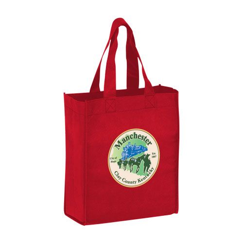 Imprinted Economy Totes With Insert - detailed view 15