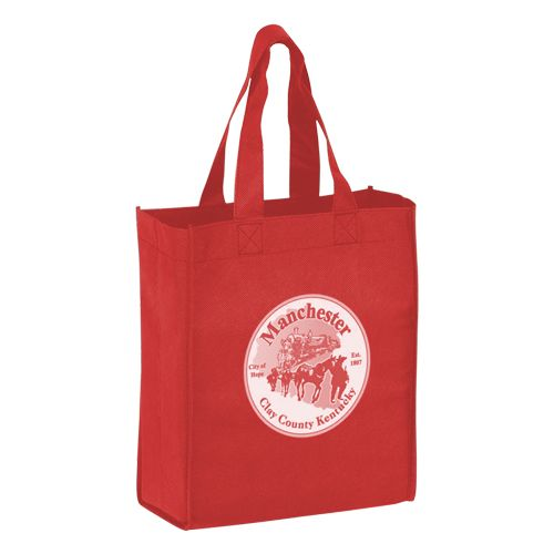 Imprinted Economy Totes With Insert - detailed view 16