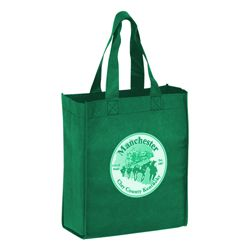 Imprinted Economy Totes With Insert - 12 X 8 X 13