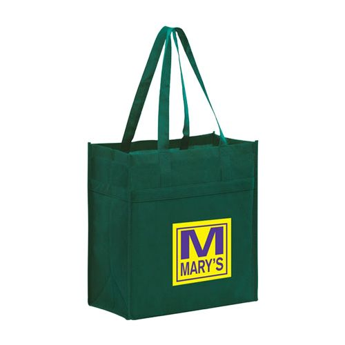 Imprinted Y2K Heavy Duty Grocery Bags - detailed view 7
